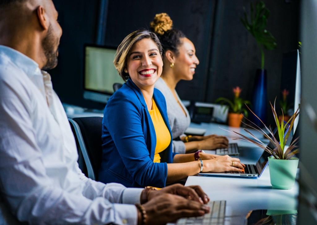 employees perspective on accomplishing tasks positively